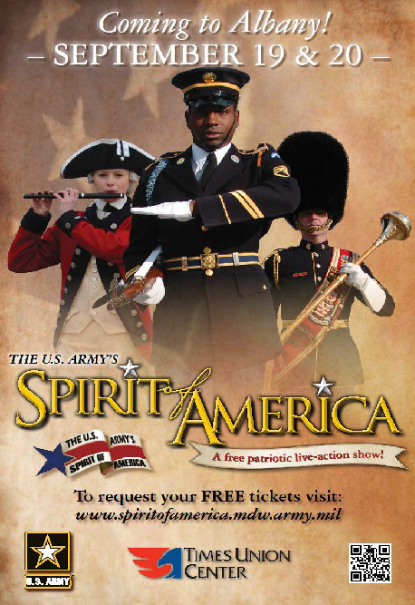 US Army's Spirit of America